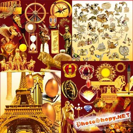 Клипарт - Золотые изделия