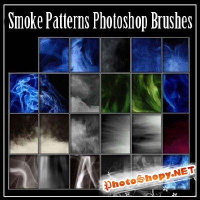 Smoke Patterns Photoshop Brushes