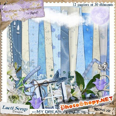 SCrap Kit - My Dream in Blue