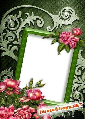 Рамка для фотошоп – Ажурная