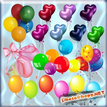 Клипарт - Воздушные шары
