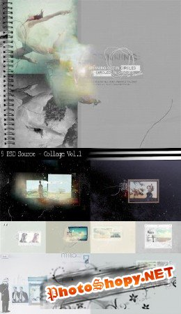 9 PSD Source - Collage Vol.1