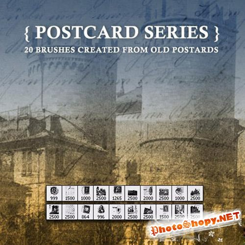 Postcard Brushes Series