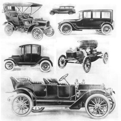 Кисти для фотошопа - Старинные автомобили