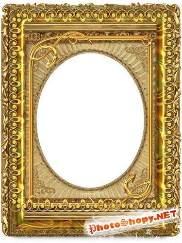 Golden Frames PSD