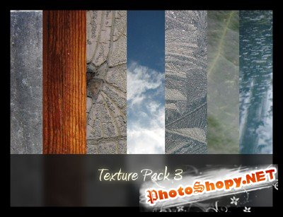 Photo textures pack 3