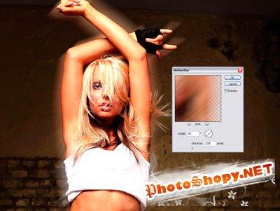 Урок Фотошопа: Разноцветное свечение на фотографии