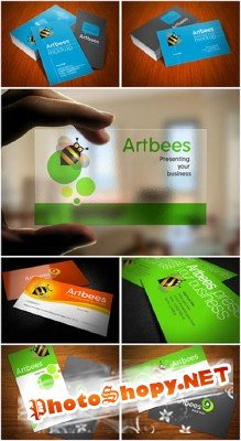 PSD Templates - Great Business Cards #4 Styles