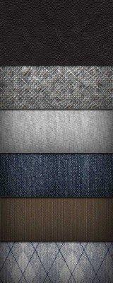 8 тканевых текстур и патернов