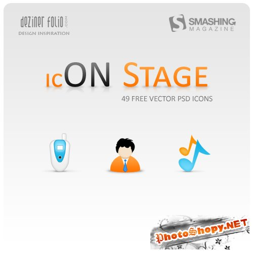 ������ ��� �������� ����� (On Stage Icon Set)