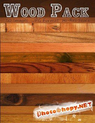 Сборник качественных текстур дерева