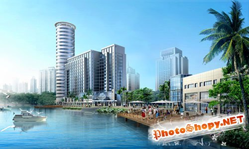 PSD-Sourse - Apartment by the River
