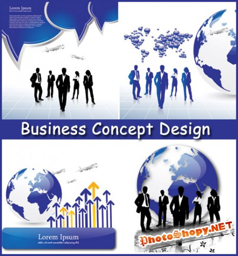 Business Concept Design - Stock Vectors