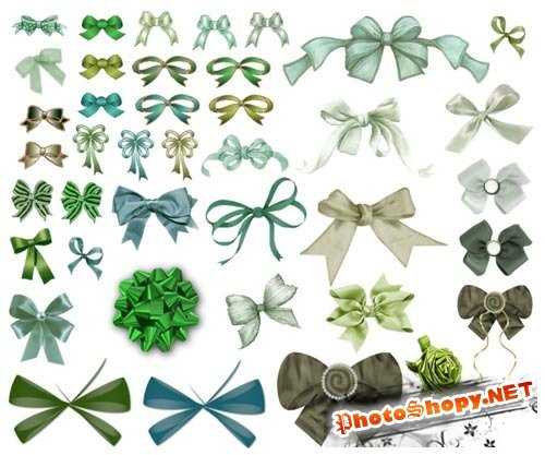PNG Clipart - Big Ribbons Collection