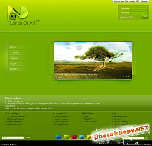 New Interface Nature PSD