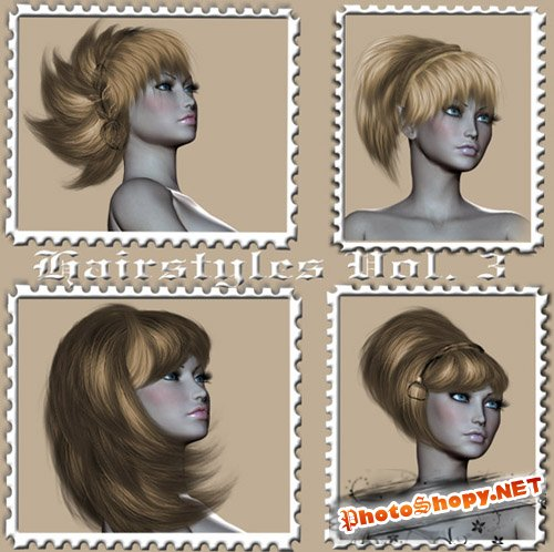 Set of Hairstyles Vol. 3