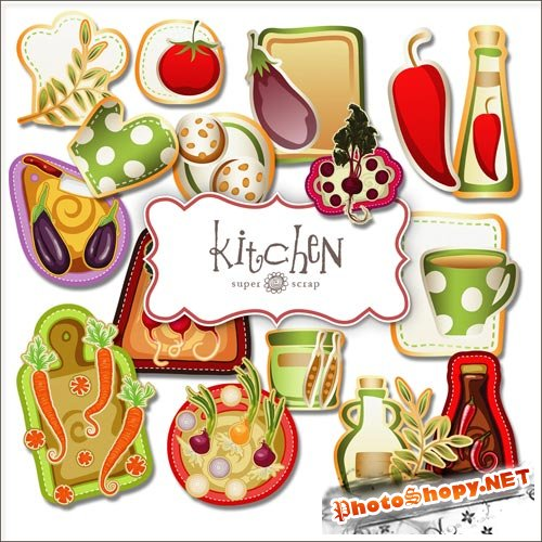 Scrap-kit - Kitchen Set