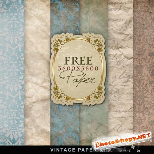 Textures - Old Vintage Backgrounds #18