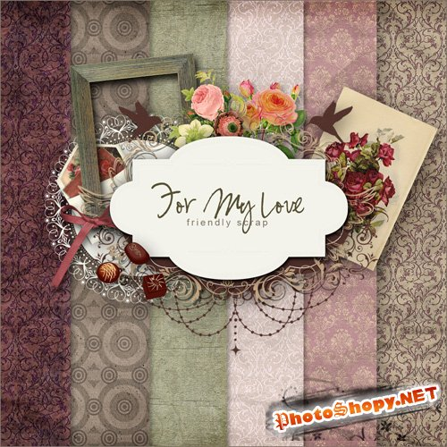 Scrap-kit - For My Love