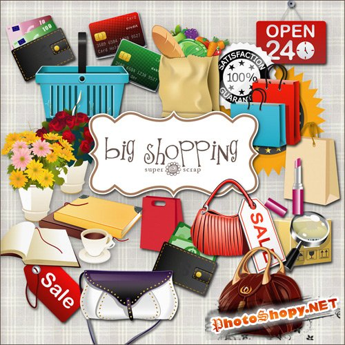 Scrap-kit - Big Shopping