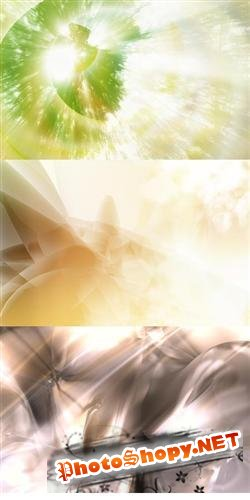 New collection of various abstract backgrounds