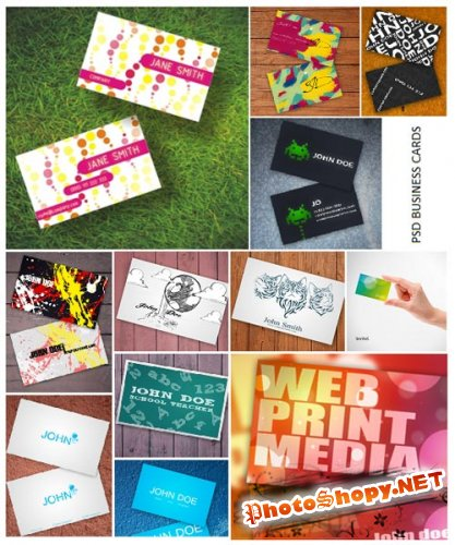 43 Photoshop Business Card Templates