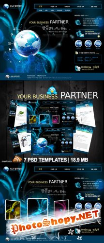 Your Business Partner Templates PSD Nr.62