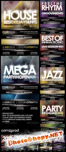 GraphicRiver Club Party Poster