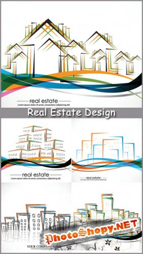 Real Estate Design - Stock Vectors