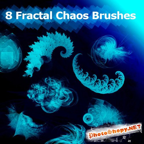 8 Fractal Chaos Brushes