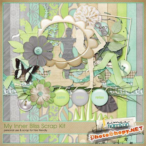 My Inner Bliss Scrap Kit