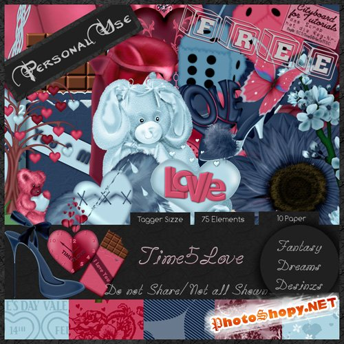 Scrap-set - Time4Love