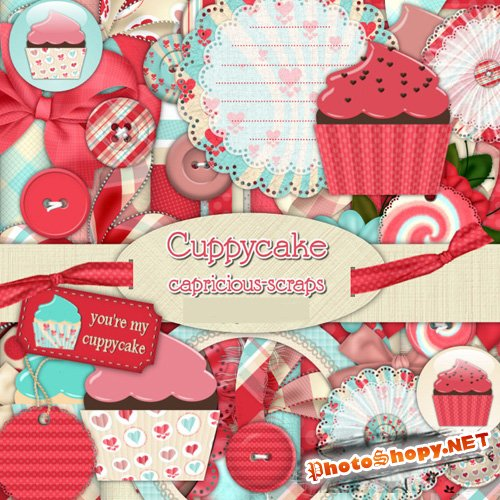Scrap-set - Cuppycake