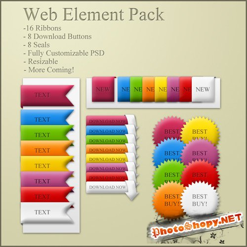 Simple Web Element Pack
