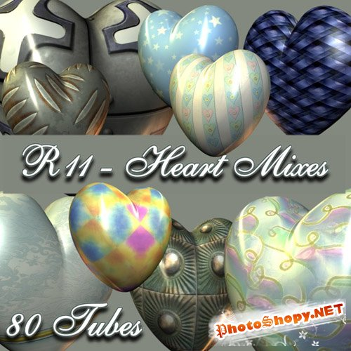 Scrap-kit - Heart Mixes 1