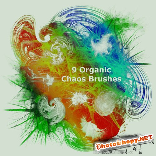 9 Organic Chaos Brushes