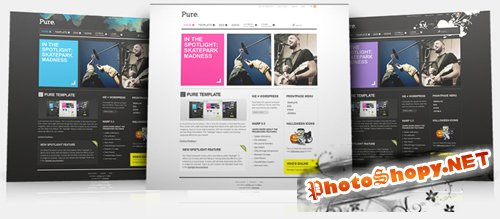 YooTheme Pure v5.5.6 j1.5 and j1.6 updated for WARP 5.5.14 RETAIL
