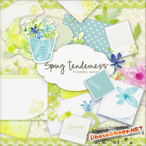 Scrap-kit - Spring Tenderness