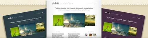 Modest Wordpress Theme [ORIGINAL FILES]