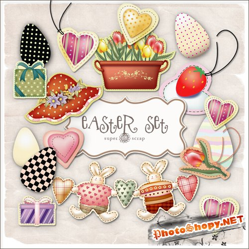 Scrap kit - Easter Set #2