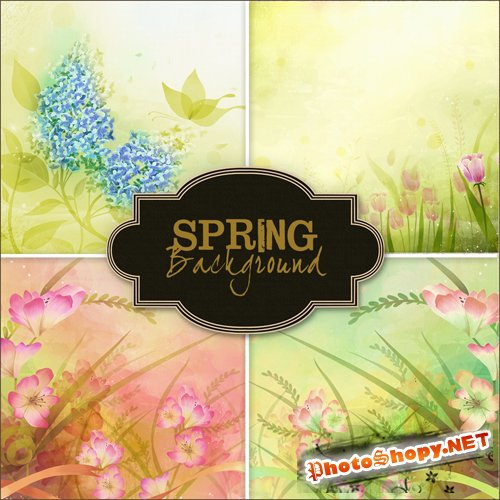 Textures - Spring Backgrounds #4