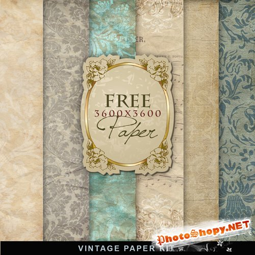 Textures - Old Vintage Backgrounds #24