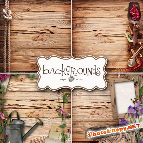 Textures - Nice Woods Backgrounds