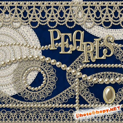 "PNG Clipart - ""Pearls"""