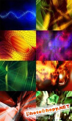 Large collection of abstract backgrounds