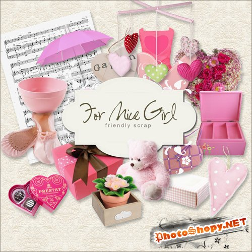 Scrap-kit - For Nice Girl