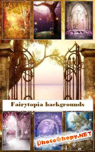Fairytopia backgrounds