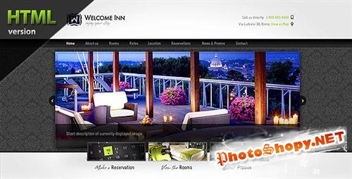 ThemeForest - Welcome Inn, Spa & Ski Resort HTML Theme - Rip