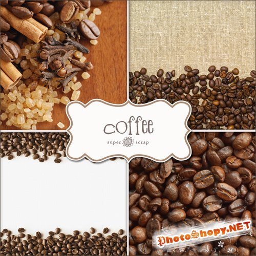 Textures - Coffee Backgrounds #2