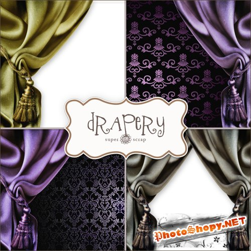 Drapery Backgrounds